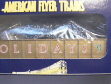 American Flyer S-Ga. XMAS HOLIDAYGondola W TREES #48335 NOS,MINT CD.WOW ! L@@K !