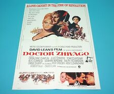 ORIGINAL MOVIE POSTER DOCTOR ZHIVAGO 1995 FOLDED DUTCH SOUNDTRACK SPECIAL