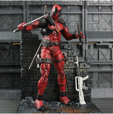 "7"" Marvel Select Deadpool Action Figure Figurine Statue Boxed Collectors Edition"