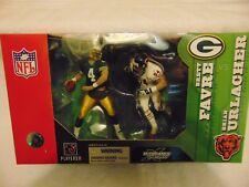 New Loose McFarlane NFL Brett Favre Green Bay Packers fr 2-Pack CHEAP (READ!)
