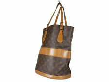LOUIS VUITTON Vintage Bucket Monogram Tote Bag Shoulder Bag LS3046