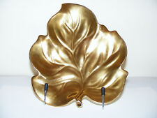 "Carlton   Ware   Gold    Lustre    Leaf   Shaped   Dish   Length  8.3/4""  Inches"