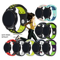 Hot Replacement 20mm 22mm Soft Silicone Sport Wrist Watch Band Strap Bracelet