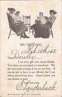 Sunday School Absence Notice - 1910