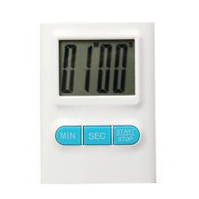 Reloj de Cocina Digital LCD Temporizador con Clip Boton On / Off - Blanco