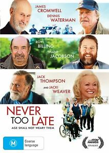 Never Too Late : NEW DVD