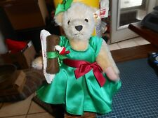 New STEIFF MUFFY VANDERBEAR BUCHE DE NOEL 2015 HOLIDAY LTD ED EAN 682964