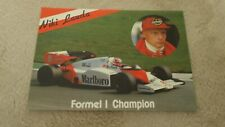 Mc Laren MP 4 Niki Lauda Weltmeister 1984  alte orig. Formel 1 Postkarte