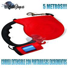 CORREAS EXTENSIBLES PARA PERROS CORREAS DE PERROS CORREA PERRO EXTENSIBLE BOLSAS