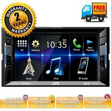 Double Din car stereow ith Spotify app mode DVD MP4 MP3 playback Bluetooth