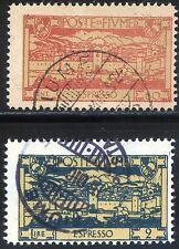 Fiume 1923 Espressi S37 n. E7/E8 usati (m1560)