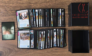 X-files CCG 100 Card The Truth Is Out There Rare Set + Extras