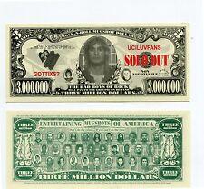 Bad Boys of Rock and Roll    3 MILLION DOLLAR  BILL