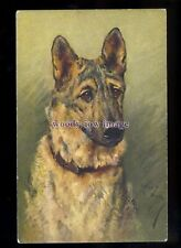 an0332 - Dog - Alsatian, No.109 - Artist Arthur Wardle - postcard