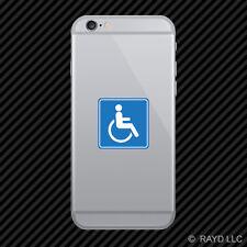 Handicap Cell Phone Sticker Mobile Die Cut Wheelchair Accessible