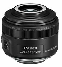 Canon EF-S 35mm f/2.8 macro is STM objetivo