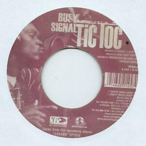 """Busy Signal Tic Toc Import 7"""" Vinyl Record Single 2008 VPS9145 Vp 45 EX"""