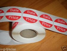 """250 Self-Adhesive Sales Price Labels 1"""" Stickers / Tags Retail Store Supplies"""