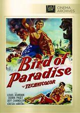 Bird of Paradise DVD 1951 Louis Jourdan, Debra Paget, Jeff Chandler Delmer Daves