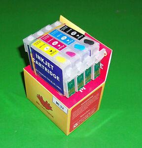Refillable T1411, T1412, T1413, T1414 Cartridges for ME32 ME320 ME340 ME620F