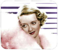 BETTY DAVIS MOUSE PAD 1/4 IN. MOVIE TV MOUSEPAD RETRO VINTAGE HOLLYWOOD