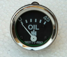 IH / Farmall Oil Pressure Gauge fits Cub 1955 and up - Screwin 0-45