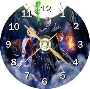 Nightmare Before Christmas 3 Cd Clock Can personalise