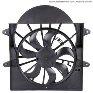 For Acura RLX 2014 2015 2016 2017 New Condenser Side Cooling Fan Assembly DAC