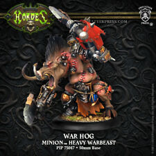 Hordes: Minions: War Hog Farrow Heavy Warbeast (Pip75047) New