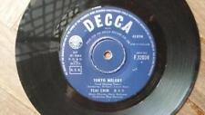"""TSAI CHIN 7"""" Single TOKYO MELODY / I LOVE A MAN Decca HONG KONG"""