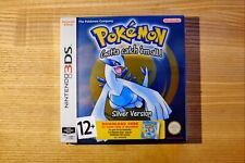 Pokemon Silver Version 3DS Game Factory Sealed EUR