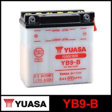 BATTERIA [YUASA] YB9-B (12 VOLT / 9 AMPERE)
