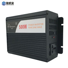 pure sine wave power inverter 500W DC  12V/24V/48V to AC converter tool For Home