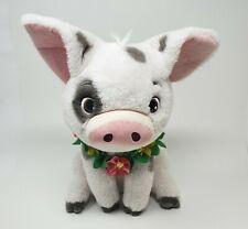 "BNWT Shop Disney Store 12/"" Assis Souple PUA Moana Peluche Cochon Jouet"