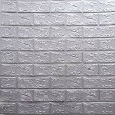 10x 3D Telha Brick Wall Adesivo Papel De Parede Auto-adesiva Espuma Xpe Painel Home Decor