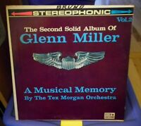Tex Morgan Orchestra The Second Solid Album of Glenn Miller Coronet  CXS-172 LP