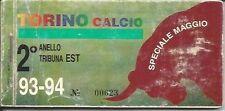 ABBONAMENTO TORINO CALCIO STAGIONE 1993/94