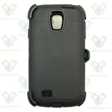 For Samsung Galaxy S4 Case (Belt Clip Holster Fits Otterbox Defender) BLACK