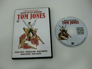 TOM JONES DVD ALBERT FINNEY SUSANNAH YORK HUGH GRIFFITH GEORGE DEVINE