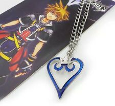 "Kingdom Hearts Crown Logo Necklace Disney Cosplay Anime 1.5"" US Seller"