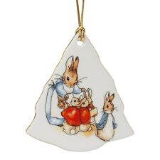 Reutter Beatrix Potter Peter Rabbit Porcelain Christmas Tree Decoration