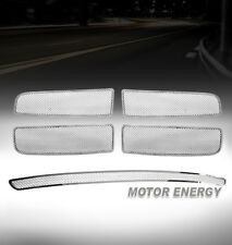 02-05 DODGE RAM PICKUP TRUCK FRONT UPPER + BUMPER LOWER MESH GRILLE GRILL COMBO
