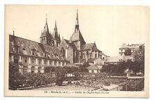 blois , abside de l'église saint-nicolas