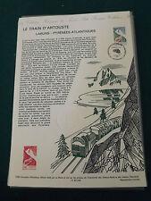 Collection Historique Timbre Poste 1er Jour : 10/07/93 - le train d'artouste