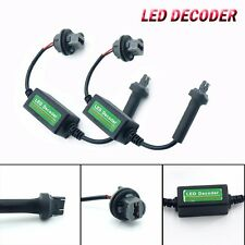 2pcs 7443 T20 LED Decoder Adaptor Warning Canceller Error Free Anti Canbus