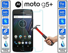 Genuine 100% TEMPERED GLASS HD Screen Protector Cover For Moto G5 Plus G5 PLUS