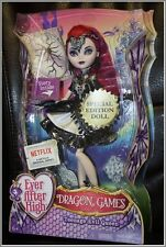 """NEW EVER AFTER HIGH DOLL DRAGON GAMES 10"""" TEENAGE EVIL QUEEN SPECIAL EDITION BIN"""