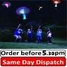 1-25 Flying Rotating Rocket Helicopter Flash LED Light Toy  Elastic Copter kids
