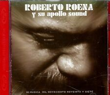 "ROBERTO ROENA  Y SU APOLO SOUND - ""MI MUSICA"" - CD ORIGINAL"