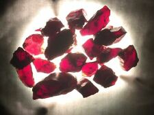 Garnet, Rough, Natural, Mined, For Faceting & Cabbing Total Weight 37 grams